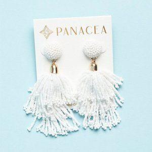 Panacea Beaded Tassel Earrings - NWT